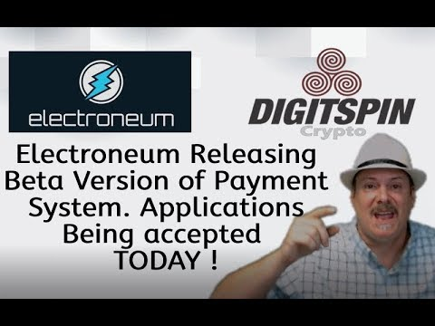 ETN Electroneum Payment Processing system RELEASED BETA - News - What you need to know