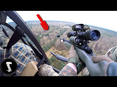 Sniper Squad uses HELICOPTER for their group in Airsoft!