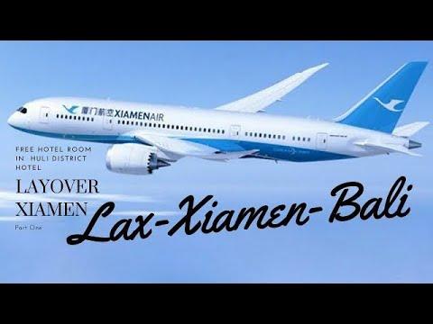 Layover in Xiamen China LAX-Xiamen-Bali #Xiamenair #Xiamen #china #americansinchina
