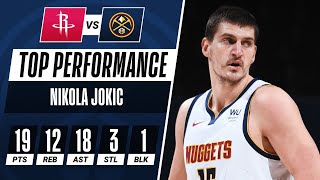 Jokic Drops Triple-Double With CAREER-HIGH 18 AST!