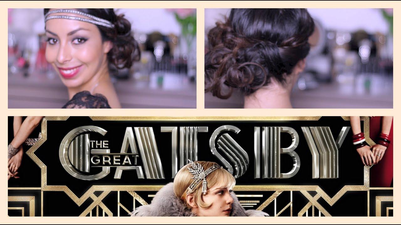 Chignon Ondule Coiffure Glamour Inspiration Gatsby Le Magnifique