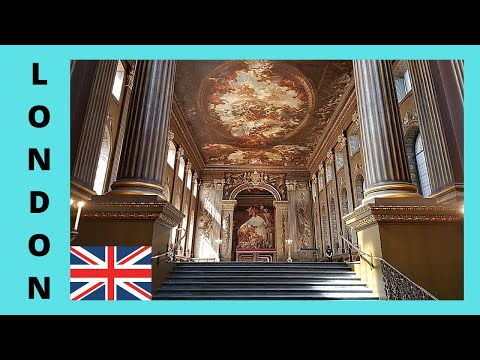 GREENWICH, the breathtaking Painted Hall of the ROYAL NAVAL COLLEGE, ENGLAND