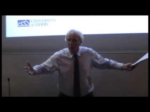 Professor Tony Watts iCeGS 17th Annual Lecture