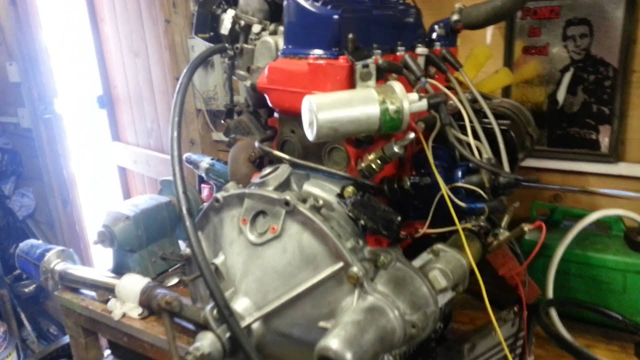Mini turbo engine