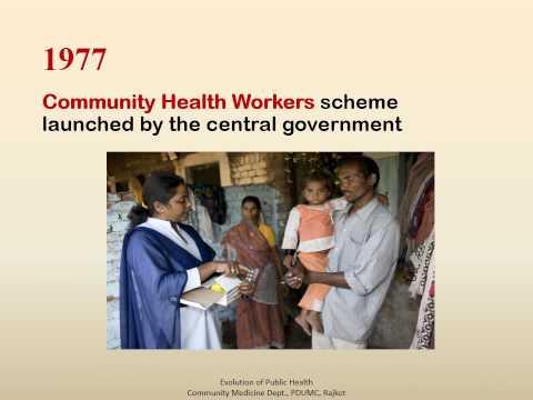 Evolution of Public Health in India