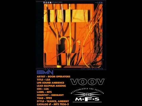 (((IEMN))) Boom Operators - LSA (Life Sound Ambience) - MFS 1992 - Trance, Ambient, Experimental