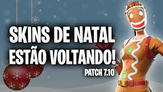 ALL ABOUT the CHRISTMAS UPDATE-Fortnite [Patch v 7.10]