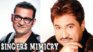 Mimicry Of Kumar Sanu & Abhijeet Bhattacharya | Abin Sinha