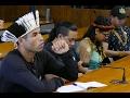 Índios e defensores condenam a opressão contra povos nativos