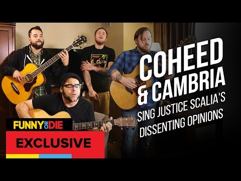 Coheed and Cambria Sing Justice Scalias Dissenting Opinions