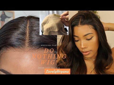 DO NOTHING WIG| Wearproof Fake Scalp| Royalme Lovely Bryana