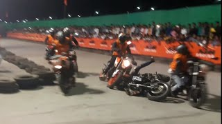 Accident KTM Duke Race In Kolkata | Ktm Duke Bike Stunts Fail & Accident Compilation