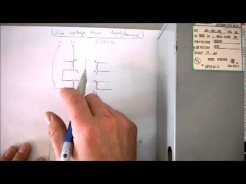 how to wire a buck booster part 2 youtube rh youtube com Simple Wiring Diagrams HVAC Wiring Diagrams