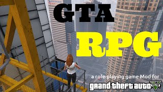 GTA V -  RPG (Role Playing) Mod (first gameplay)