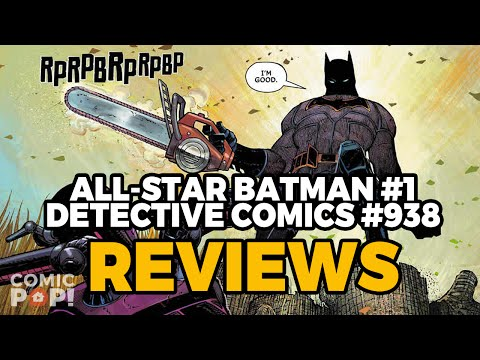 ALL STAR BATMAN & DETECTIVE #938 PLUS THIS WEEK