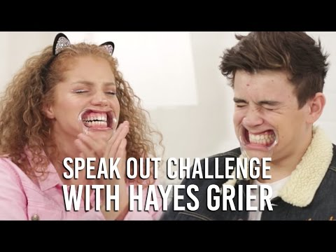 Funny  Speak Out Mouth Guard Challenge with Hayes Grier | Music Monday with Mahogany LOX