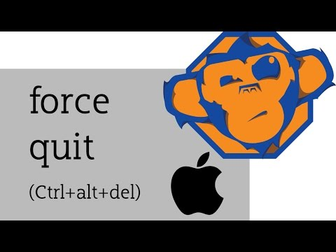 How to force quit in OSX / Mac version of Ctrl+Alt+Del