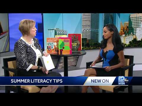 Prof  Jackie Easley offers summer reading advice to parents