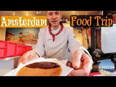 ALBERT CUYP MARKET FOOD TRIP   AMSTERDAM NETHERLANDS TRAVEL VLOG