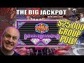 $25,000 GROUP PULL 💎Wheel of Fortune Double Diamond! 💎3 JACKPOTS!