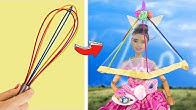 14 Barbie Einhorn DIYs und Bastelideen