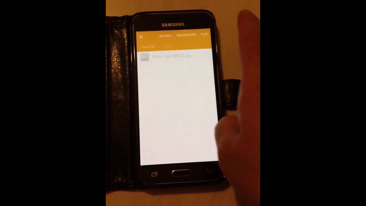 comment deplacer ses photos sur carte sd samsung galaxy j3 Samsung J3, deplacer des images au carte SD   YouTube