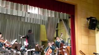 10/12/2011 - 劉永生中學12週年開放日 (管弦樂團學生表演)(下午3時44分)(部分)
