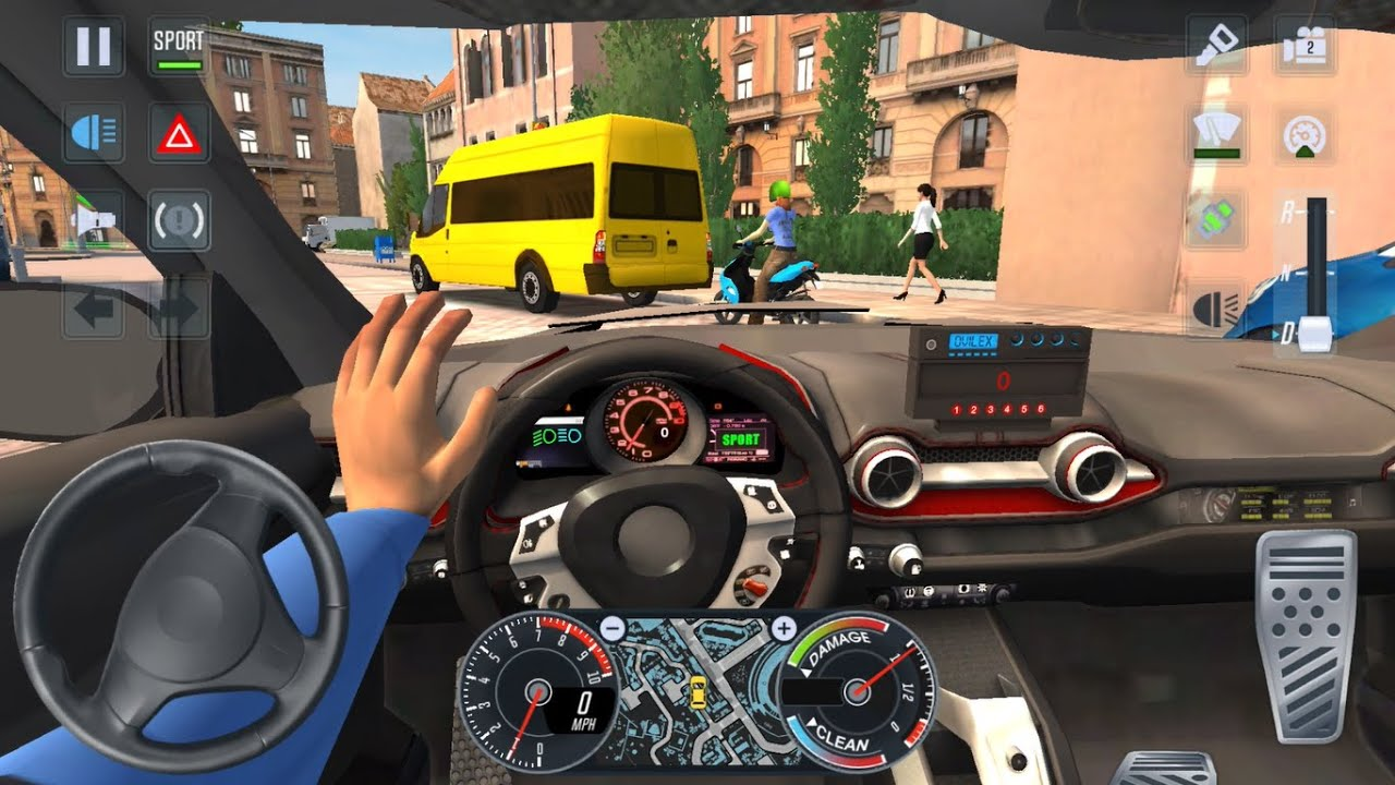 VIP RACE CARS CAB DRIVER 🚖✨  City Car Driving Games Android iOS - Taxi Sim 2020 Gameplay