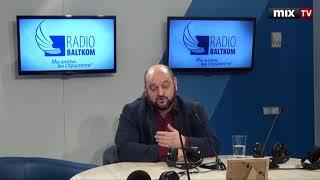 """Заместитель начальника полиции самоуправления Риги Андрей Аронов в программе """"Прямая речь"""" #MIXTV"""