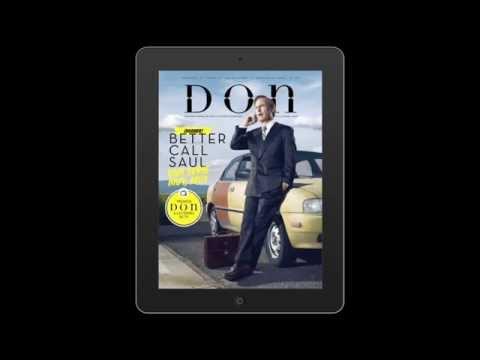 Llama a Saul Goodman para entrar en Revista Don 14