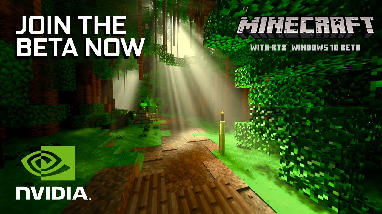 Minecraft with RTX Beta Available Now  Official Launch Trailer