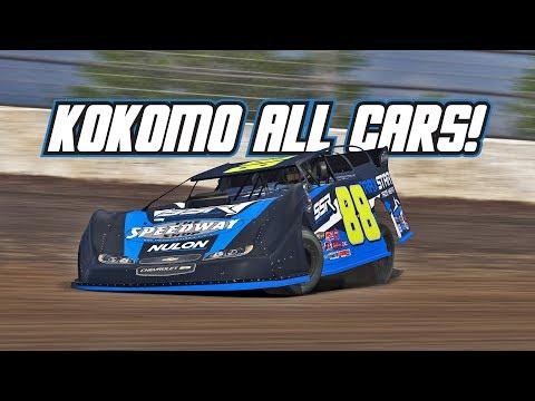 iRacing: Kokomo Preview (All Cars @ Kokomo Speedway)