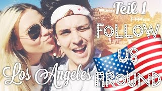 L.A. 🇺🇸  FOLLOW US AROUND + TOLLE Verlosung ♡ TEIL 1  |  Dagi Bee