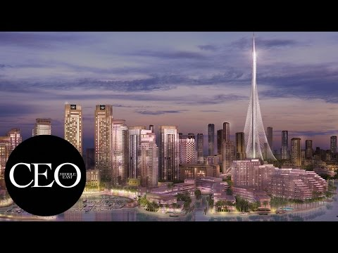 Inside the Dubai Creek Harbour mega-project by Emaar