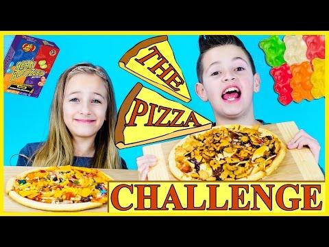 PIZZA CHALLENGE! GROSS & YUM MIX | PLP TV