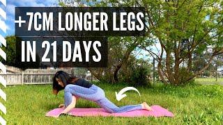 CHÂN DÀI HƠN 7CM TRONG 21 NGÀY: Bài 1-Tăng Chiều Cao cho nam nữ |  HEIGHT GROWTH EXERCISES in legs screenshot 5