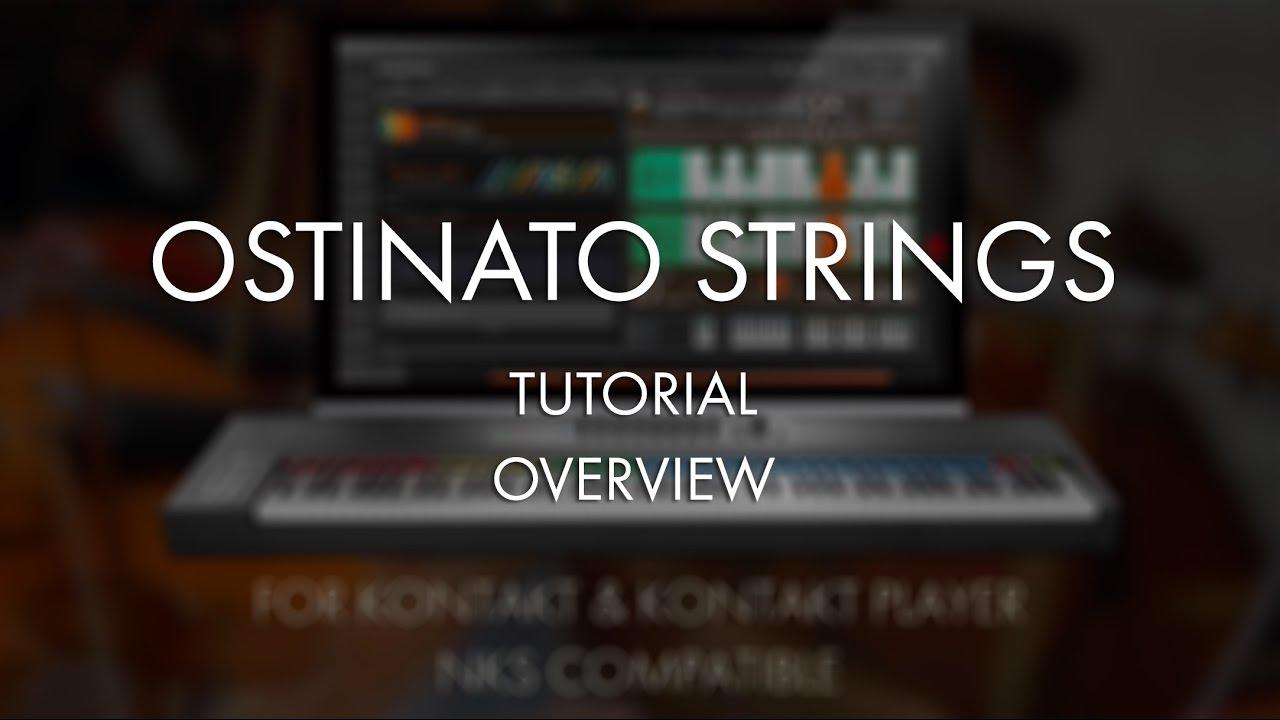 Ostinato Strings - Sonokinetic - Sample libraries and Virtual