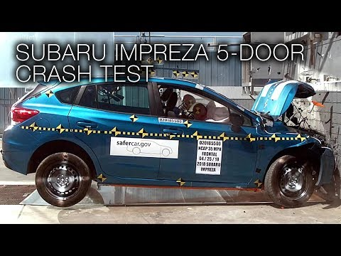 Subaru Impreza Hatchback (2018) Frontal Crash Test