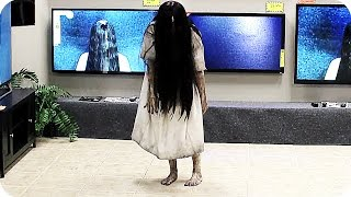 RINGS TV Store Prank (2017) Horror Movie thumbnail