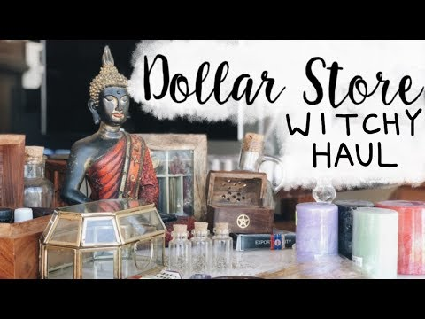 Dollar Store Witch Supply Haul