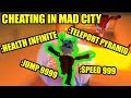 ULTIMATE CHEATING  in Roblox Mad City with ADMIN COMMANDS Update!!