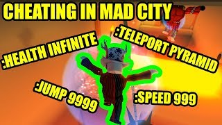 ULTIMATE CHEATING in Roblox Mad City mit ADMIN COMMANDS Update!!