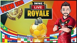 MON 1er SKIN FORTNITE ??? ►OBJ 10k = FaceCam◄ #FORTNITE BATTLE ROYALE