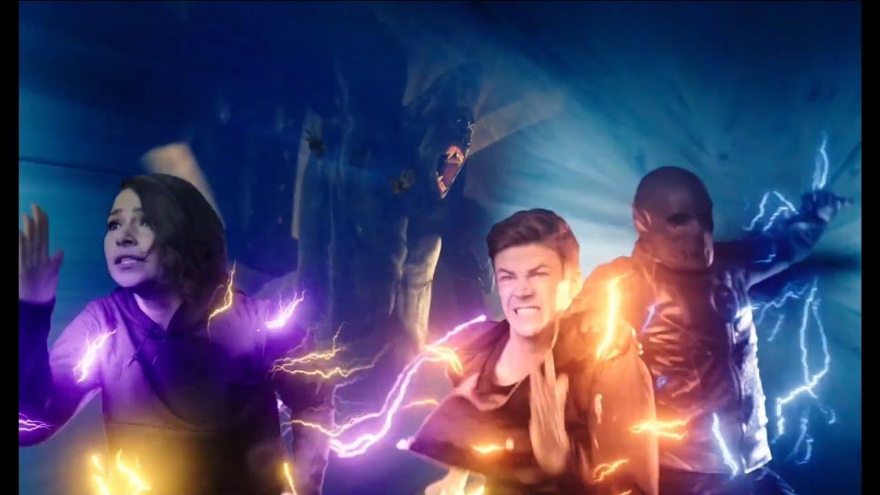 Download The flash 4x22 Barry Allen and his team saved lives in flashtime