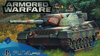 Armored Warfare 🇩🇪 Leopard 1 am Boden Let´s Play Armored Warfare Playstation 4 Deutsch