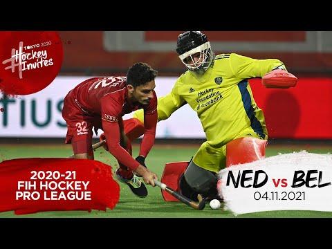 Replay: 2020-21 FIH Hockey Pro League - Belgium vs Netherlands