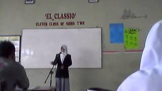 """Speech Contest """"MA NURUL HUDA MERENG PEMALANG"""""""