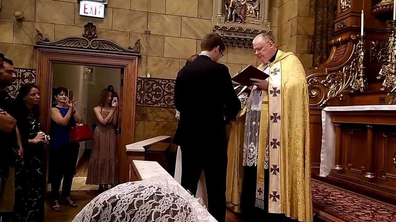 Catholic engagement ceremony