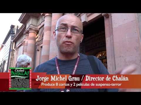 Jorge Michel Grau / Produce 8 cortos de terror / Presenta José Antonio Fernández