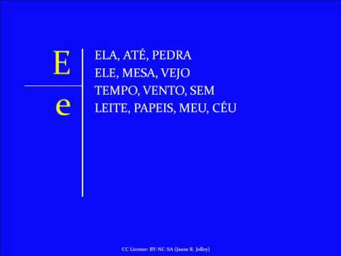 Jump Start Brazilian Portuguese - Lesson 1 - Letters and Sou